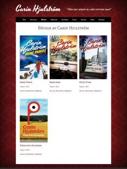 Katalogsida för böcker